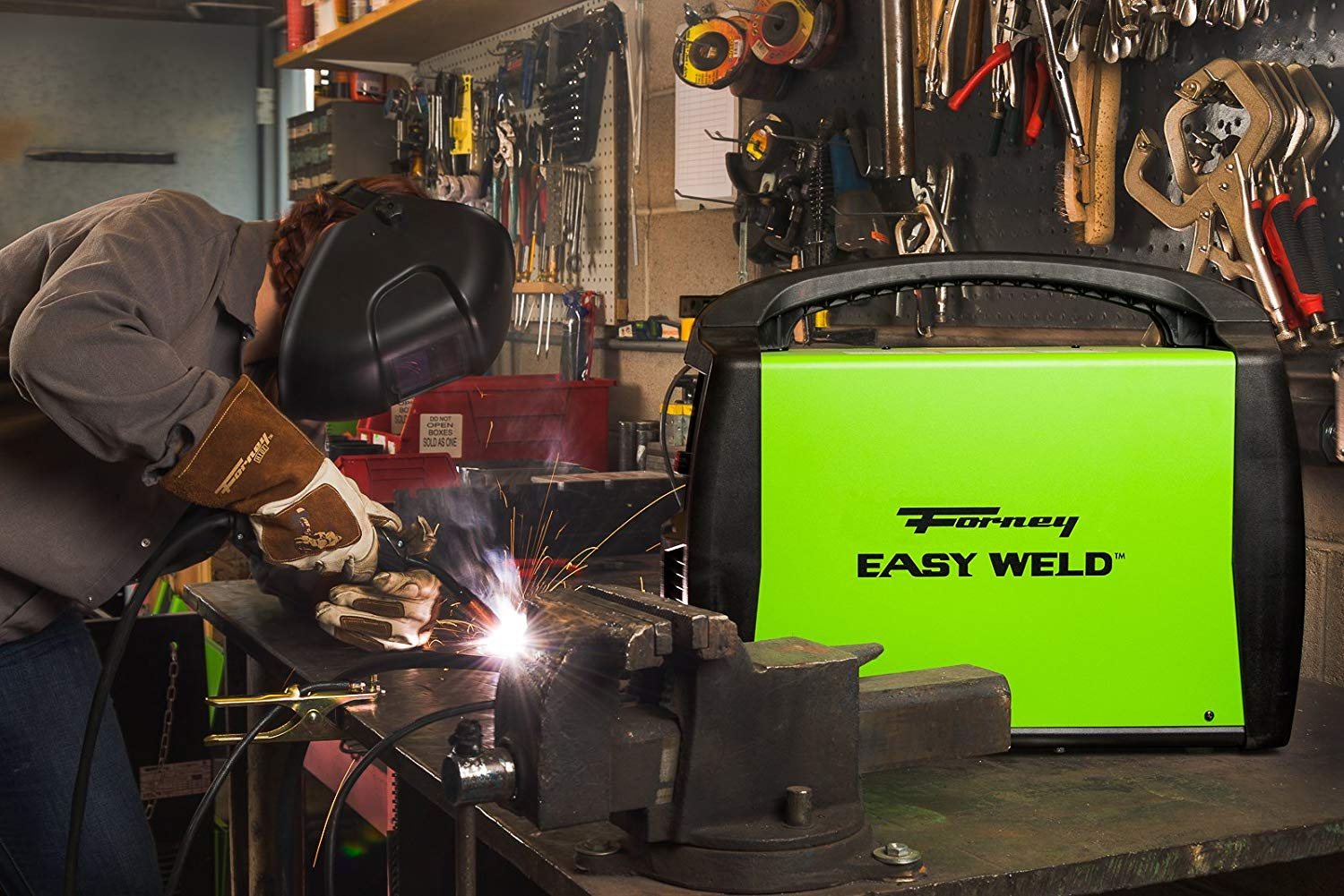 Forney 299 Flux Core 125 Amp Welder Review