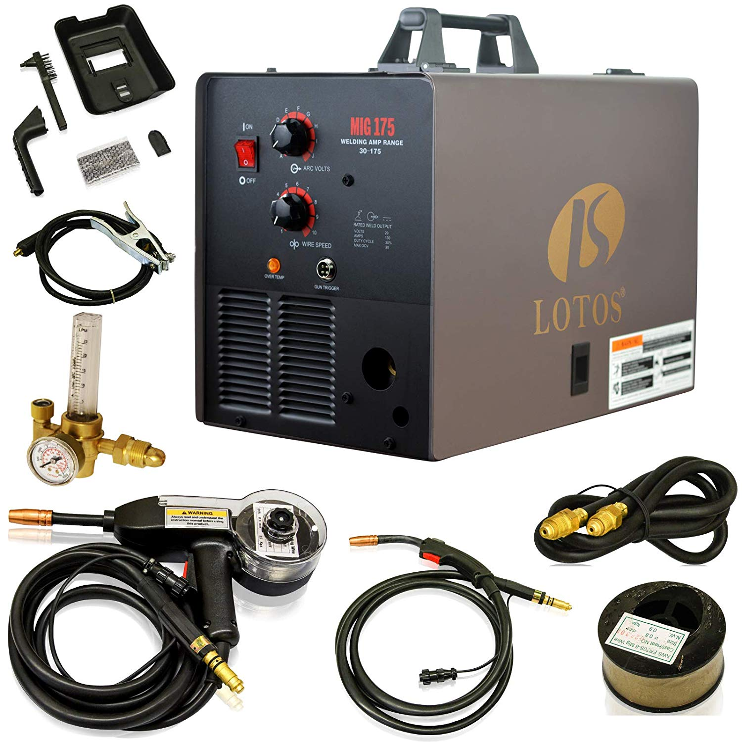 LOTOS Mig 175 Welder Review