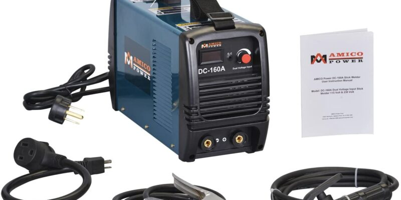 Amico 160 Amp Dual Voltage Stick Welder Review